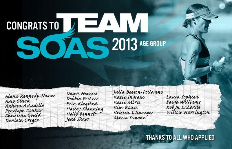TEAM SOAS 2013