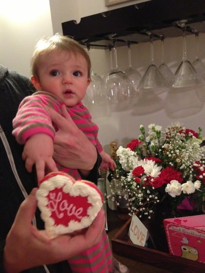 She is the sweetest Valentine I've ever seen. Love my niece, London.