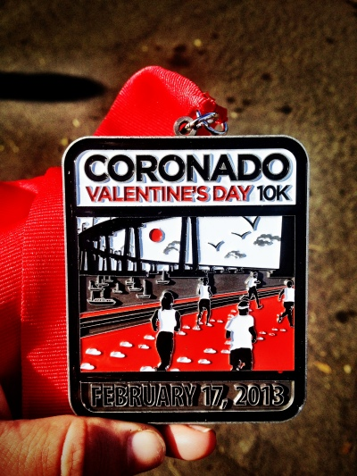 This medal is pretty rad for a 10k!