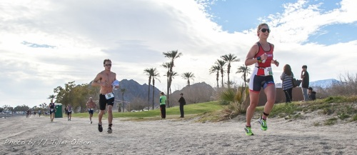 Sweet photo by Tyler Olson. My first badass professional photo during a race! Thanks :)