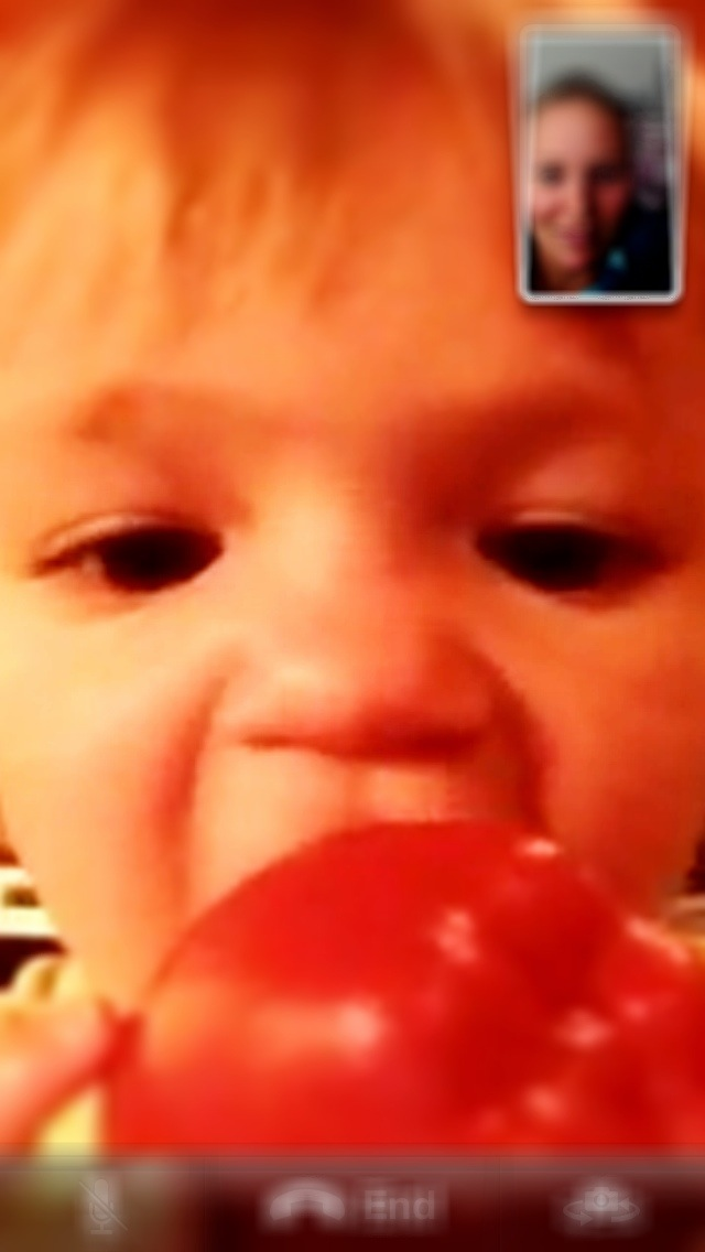 Facetime with my favorite!