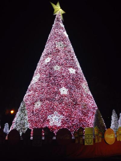 The Coca-Cola Christmas Tree.