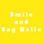 SmileandSay Hello